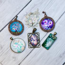 Glass pendants 6 eur Part 4