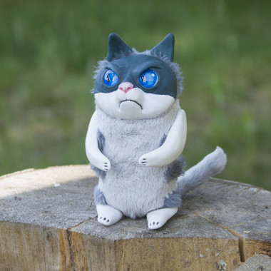 Toy Angry cat