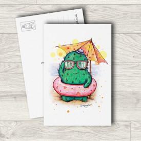Postcard Beach cactus