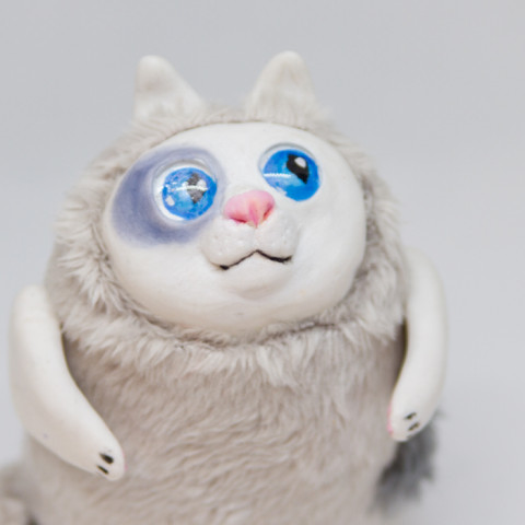 Toy Cat Bubble