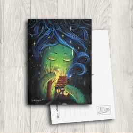Postcard In the night