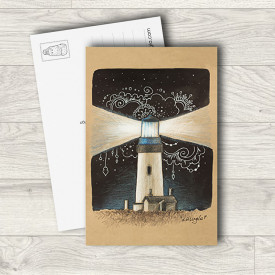 Postcard Lighthouse