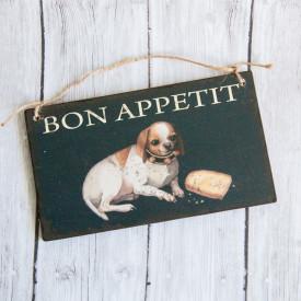 Bespoke Wooden Sign Bon appetit