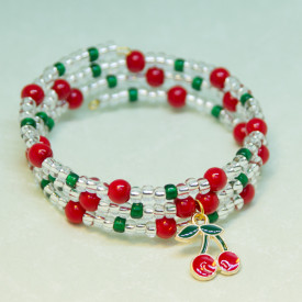 Bracelet Cherry garden
