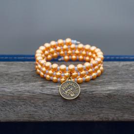 Zodiac bracelet Golden Aquarius