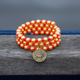 Zodiac bracelet Golden Aries