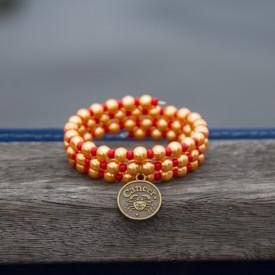 Zodiac bracelet Golden Cancer