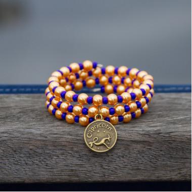 Zodiac bracelet Golden Capricorn
