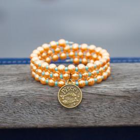 Bracelet Golden Pisces