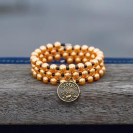 Bracelet Golden Scorpio