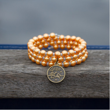 Zodiac bracelet Golden Virgo