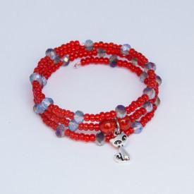 Bracelet Red cat