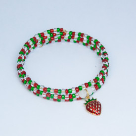 Bracelet Strawberry fields