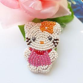 Brooch Hello Kitty