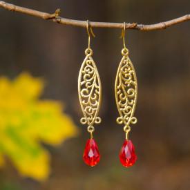 Earrings Autumn colors