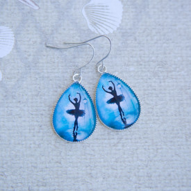 Earrings Ballerina