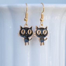 Earrings Blacky