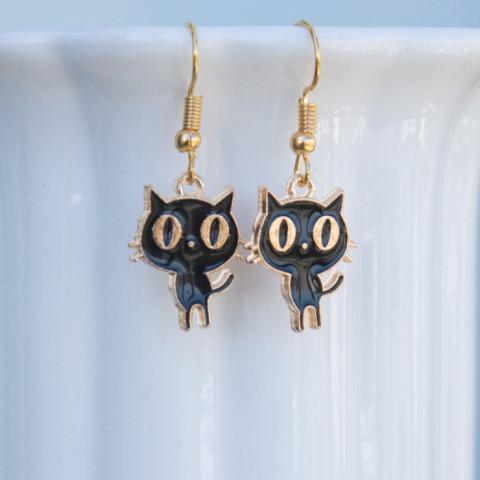 Earrings Blacky