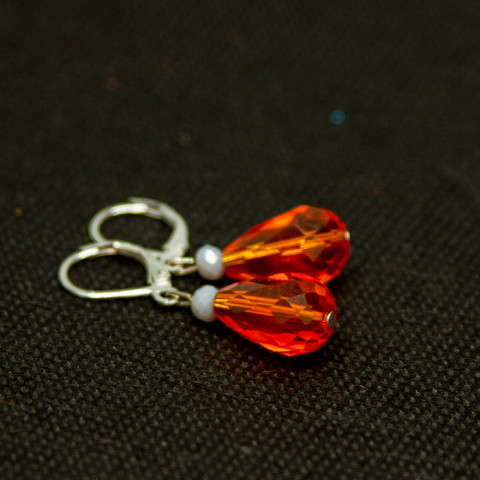 Earrings Caramel