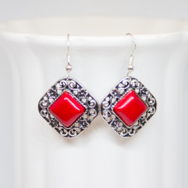 Earrings Cardinal