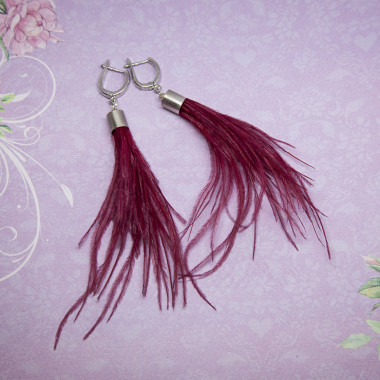 Earrings Cardinal