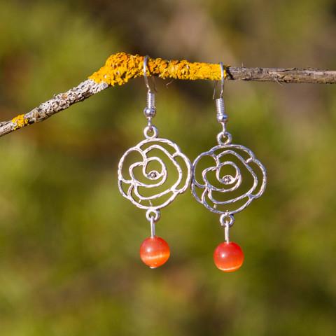 Earrings Desert rose