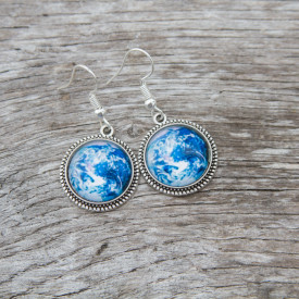Earrings Earth