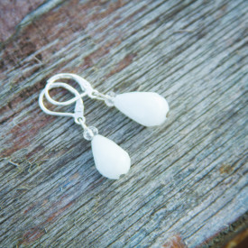 Earrings Panna cotta