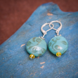 Earrings Cerulean