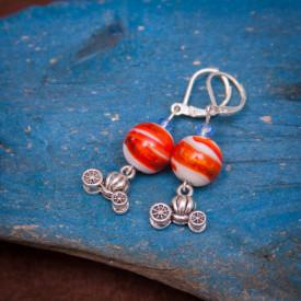 Earrings Orange coach