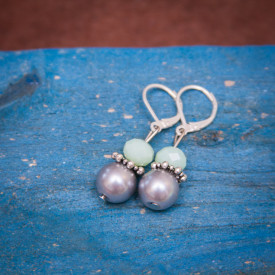 Earrings Mint fresh
