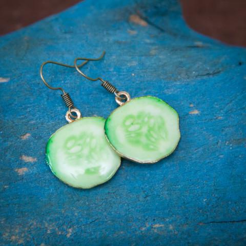 Earrings Cucumber