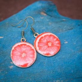 Earrings Grapefruit