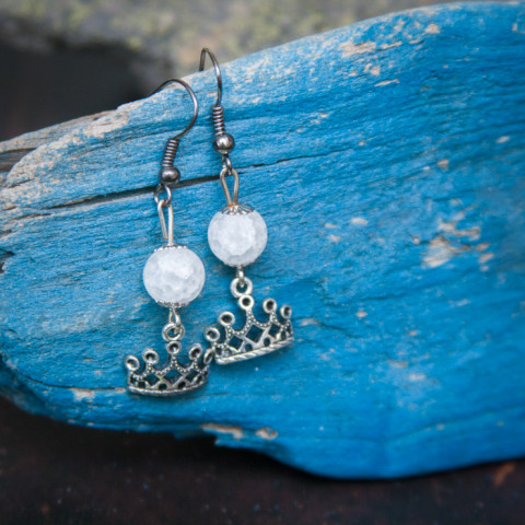 Earrings Snow queen