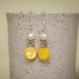 Earrings Narcissus