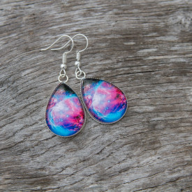 Earrings Nebula