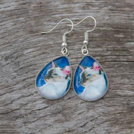 Earrings Oriental