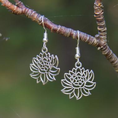 Earrings Tiny lotos