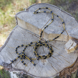Jewelry set Black beauty