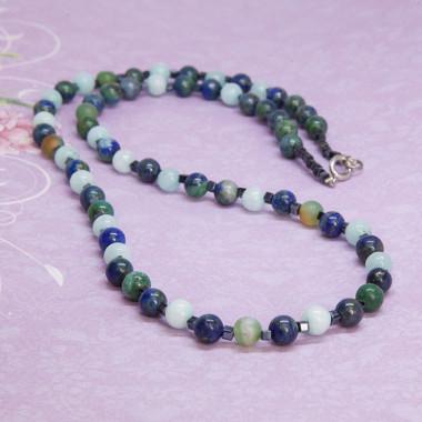 Necklace Aubergine