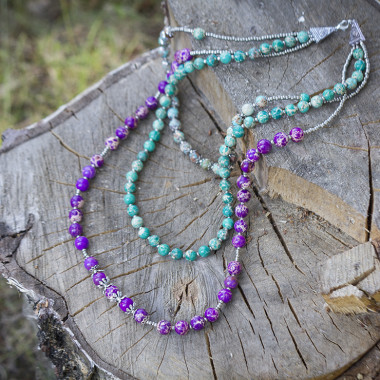 Necklace Celosia