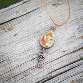 Pendant Steampunk key